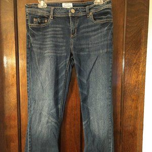 Chelsea Boot Cut Distressed Jeans Short Length